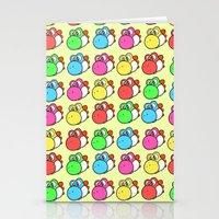 yoshi Stationery Cards featuring yoshi by zamii070