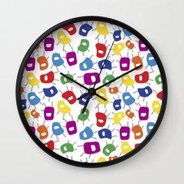 Petites Chaises Wall Clock
