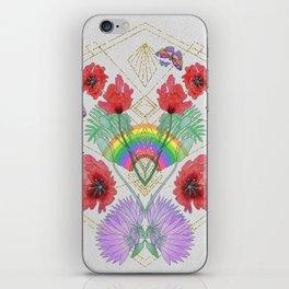 Rainbow Butterflies iPhone Skin