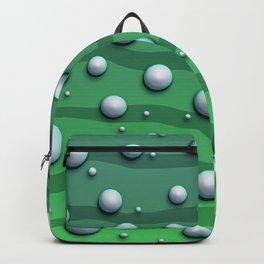 Alien Bubble Skin Green Backpack