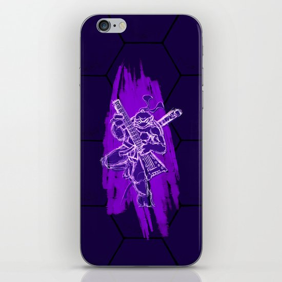 TMNT Rock: Don iPhone & iPod Skin