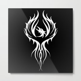 Pheonix - tattoo inspired Metal Print