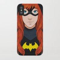 batgirl iPhone & iPod Cases featuring Batgirl by SoLaNgE-scf