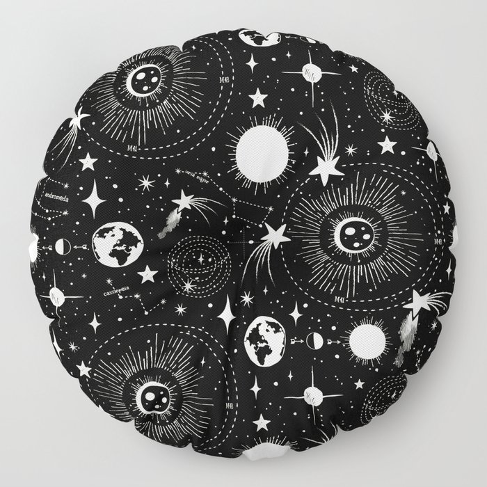 Solar System Floor Pillow