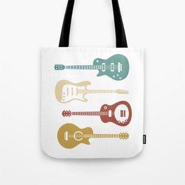 Guitar Player Bassist Tote Bag