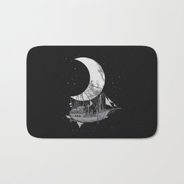 Moon Ship Bath Mat