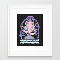 kozyndan Framed Art Prints featuring Long Lines Block the Path to Enlightenment by kozyndan