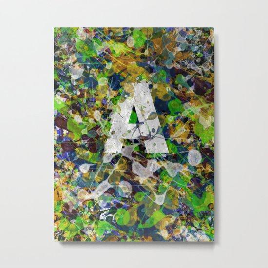 A.. Metal Print
