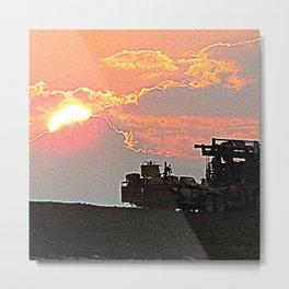 13ne003 Metal Print