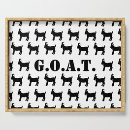 The GOAT Print Serving Tray