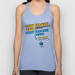 Time Travel Cafe Unisex Tank Top