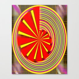 spinning abstraction Canvas Print