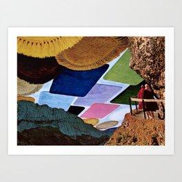 seeing rugs Art Print