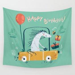 Happy birthday! Wall Tapestry