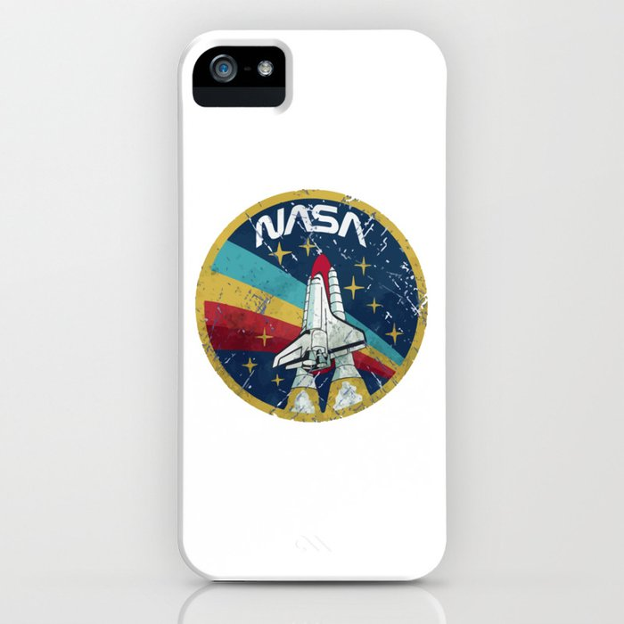 nasa vintage iphone case