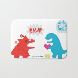 Di-NO, I'm Fasting (Don't Be Angry) Bath Mat