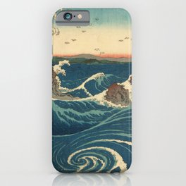 Vintage poster - Japanese Wave iPhone Case