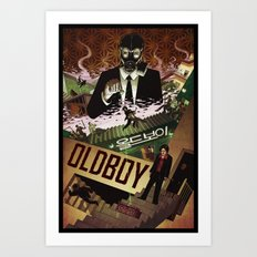 Oldboy [full color] Art Print