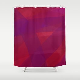 Layers of Gauze #Abstract #PurpleTones Shower Curtain