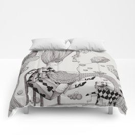 Falling Up Comforters