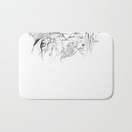 Headlights Bath Mat