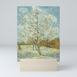 Vincent Van Gogh Peach Tree In Blossom Mini Art Print
