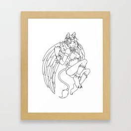 Kaya Framed Art Print