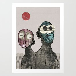 Brave New World - Savages Art Print
