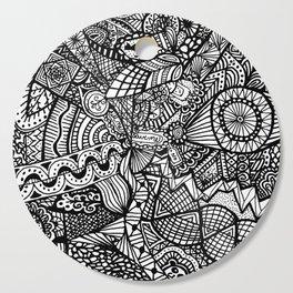Doodle 5 Cutting Board