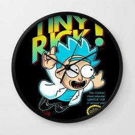 Tiny Rick! Wall Clock