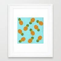 hawaii Framed Art Prints featuring Hawaii by Kakel