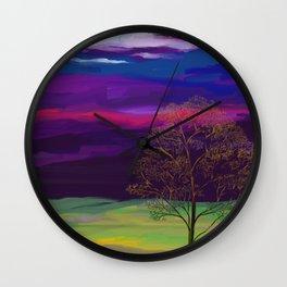 La Luna 6 Wall Clock