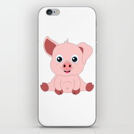 Year of the Pig Piggy Piglet Lover Luck Gift iPhone Skin