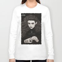 lorde Long Sleeve T-shirts featuring The Fire's Found A Home In Me by Helen Green