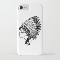 indian iPhone & iPod Cases featuring Indian by Joshua Bowers