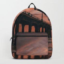 Manhattan Beach Pier III Backpack