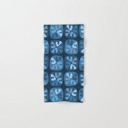 blue boomerangs Hand & Bath Towel