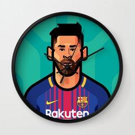 Messi Wall Clock