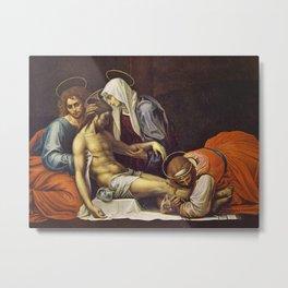 Pieta by Fra Bartolomeo Metal Print