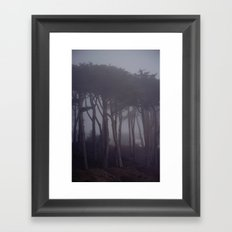 Silver City Framed Art Print
