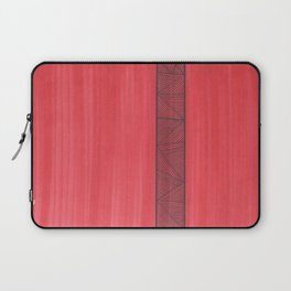Red Background Laptop Sleeve