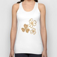 PAPERCUT FLOWER 4 Unisex Tank Top