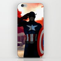 captain iPhone & iPod Skins featuring Captain by Scofield Designs
