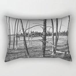 Life on the Caldera Rectangular Pillow
