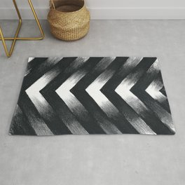 Charcoal Point Rug