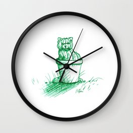 Catctus Wall Clock
