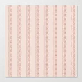 Decorative vertical stripes on a beige background. Canvas Print