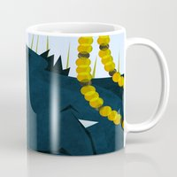 nightcrawler Mugs featuring Wagner's Tail by modHero