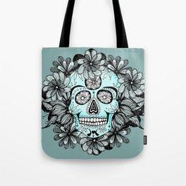 Blue Sugar Tote Bag