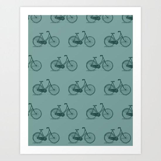 Go Ride A Bike Art Print